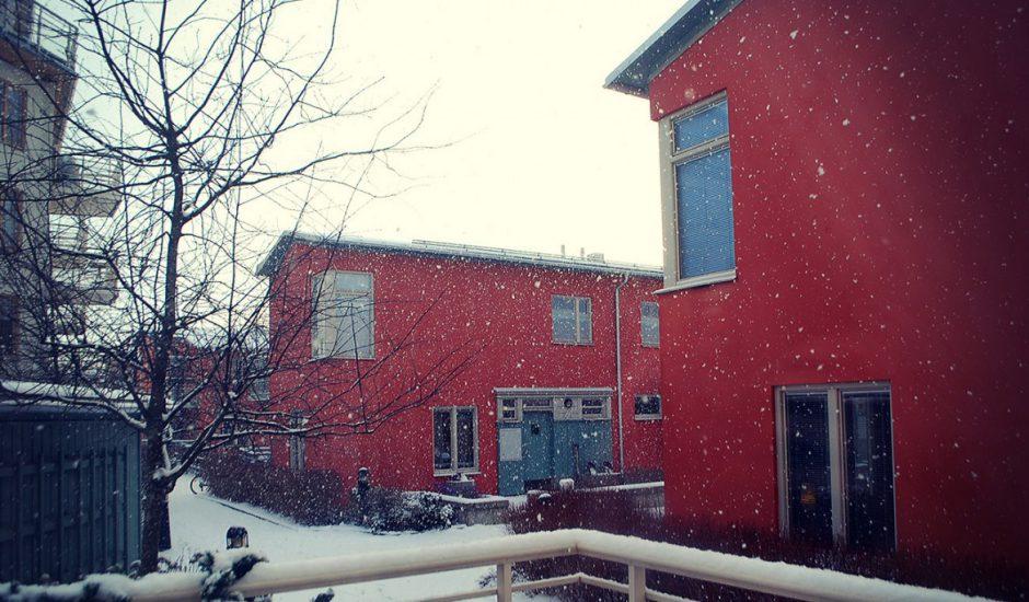 Snö och jullängtan