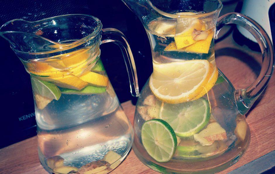 Citroner, lime och ingefära = Perfekt tillsammans